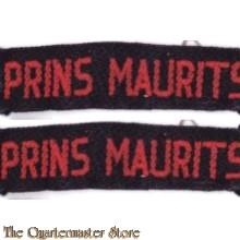Straatnamen Prins Maurits set  (Regiment Veld Artillerie)