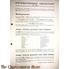 Distributiedienst Amersfoort no  429  t/m 14 april 1945