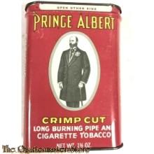 Blikje Prince Albert Pijp and Sigaretten tabak (Tin Price Albert Crimp Cut Pipe & cigarettes tobacco)