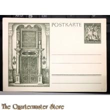Postkarte Eingang zur reichen Kapelle der Münchner Residenz