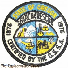 Patch State of Oregon Search and Rescue (SAR)