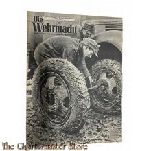 Magazine Die Wehrmacht  8e Jrg no 6 , 15 marz 1944