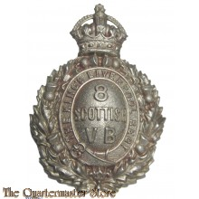 Cap badge 8th Scottish Volunteer Battalion VB King's Liverpool Regiment