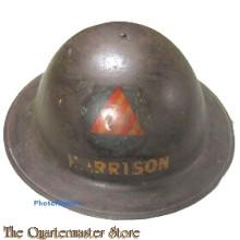 WWI U.S. Civil Defense Air Raid helmet