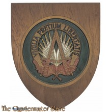 Wandbord Shape Nato 'Vigilia Pretium Libertatis'