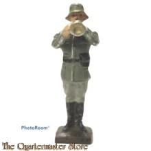 Wehrmacht trompet muzikant Lineol (German musician trumpet WW2)