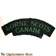 Shoulder flash The Lorne Scots (Peel, Dufferin and Halton Regiment), 4th Canadian Division