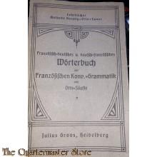 Wörterbuch Deutsch - Fransosisch 1926  (Dictionary German-French 1926)