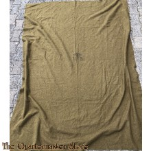 US Army  Olive Drab Wool Blanket 1952 Korea