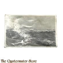 Postcard 1918 Verdun (Champs de battailles) Vue General du cimitiere National le l' Ossuaire Douaumont