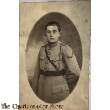 Studio portret soldier belgium 1914
