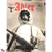 Zeitschrift Der Adler heft 3 , 2 febr 1943  (Magazine Der Adler No 3,  2 febr 1943)