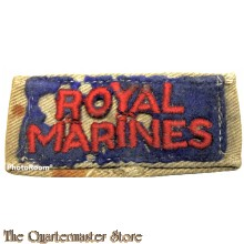 Slip on Royal Marines