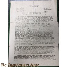 General Orders 22 Oktober 1950 Distinguished Service Cross Awards