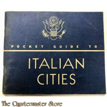 Pocket guide to the Italian cities 1943