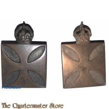 Collar badges Australian Army Chaplains Department (Chaplain)  1930-1945