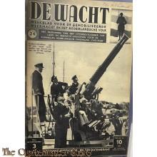 """Legerperiodiek en soldatenkrant """"de Wacht"""" no 24"""