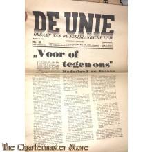 Krant de Unie no 31 , 22 maart 1941