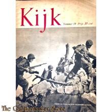 2 Maandelijks blad Kijk no 19, mariniers der VS nemen een lastige terreinhindernis in Okinawa