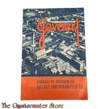 Brochure photofabrieken Gevaert NV Antwerpen