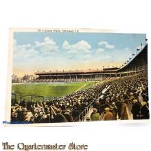 Postcard Cubs park Chicago Illinois  1940