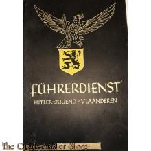 Boekje HJ Germaansche Jeugd Fuhrerdienst 1944 (Flemish youth propaganda booklet Fuhrerdienst 1944)