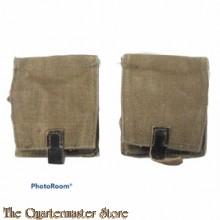 Set Russische handgranaat tasjes 1950 (set of 2 russian handgrenade pouches)