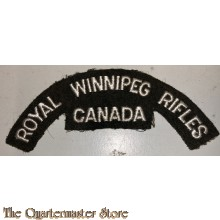 Shoulder flash Royal Winnipeg Rifles of Canada , 3rd Canadian Division