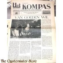 Verzetsblad Het Kompas 3e jaargang no 30