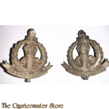 Collar badges 49th Inf Bat (The Stanley Regiment) 1930-1943