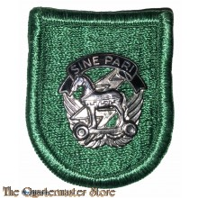 Beret flash 10th Special Forces Group (1st version)
