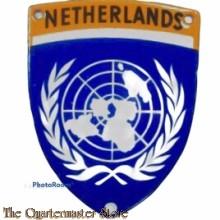 Mouw embleem Netherlands (Korea) metaal/emaille