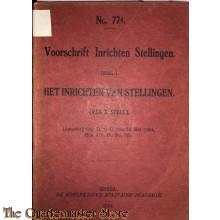 Voorschrift no 77a het inrichten van Stellingen deel I (V.L.S.1.Stell)