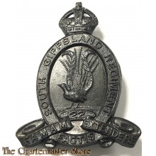 Cap badge 22nd Inf Bat The South Gippsland Regiment 1930-1942