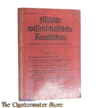 Militair Wissenschaftliche Rundschau heft 1 1943