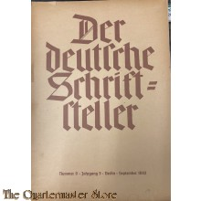 Der deutsche Schriftsteller No 9 sept 1940