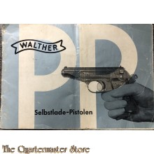 Manual Walther PP selbstlade pistole