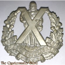 Cap badge Cameron Highlanders of Canada WW2 , 2nd Canadian Division