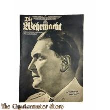 Magazine Die Wehrmacht  4e Jrg no 16,  31 juli 1940