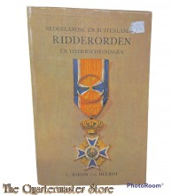 Book - Nederlandse en buitenlandse ridderorden en onderscheidingen