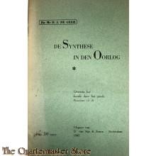 Brochure  ; De synthese in den oorlog 1942