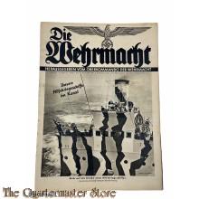 Magazine Die Wehrmacht 5e Jrg no 20, 25 sept 1940