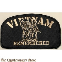 Blazer badge VIETNAM remembered