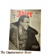 Zeitschrift Der Adler heft 8,  13 april 1943 (Magazine Der Adler no 8 , 13 april 1943)