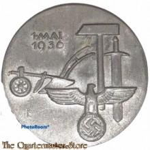 Spende abzeichen 1 Mai 1936 (Tinnie 1 mai 1936)  W Horlein Gmund