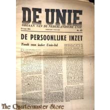 Krant de Unie no 43,  12 juni 1941