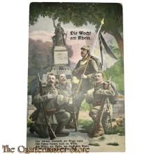 Militair Postkarte Die Wacht am Rhein , Der Schwur erschallt