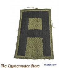 Mouwembleem 1st Army (Sleeve badge 1st US Army)