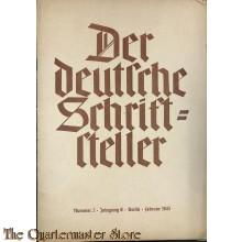 Der deutsche Schriftsteller No 2 febr 1943