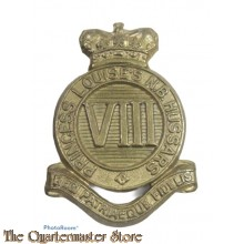 Cap badge 8th Hussars Princess Louise´s New Brunswick Hussars WW2